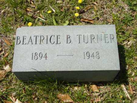 TURNER, BEATRICE B. - Talbot County, Maryland   BEATRICE B. TURNER - Maryland Gravestone Photos