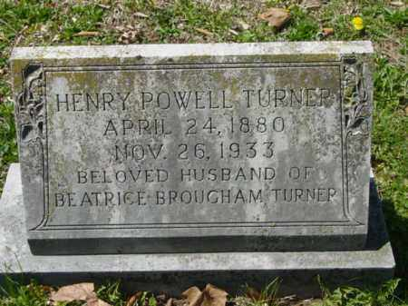TURNER, HENRY POWELL - Talbot County, Maryland | HENRY POWELL TURNER - Maryland Gravestone Photos