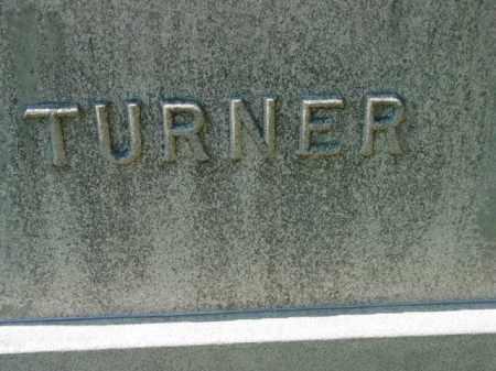 TURNER, MONUMENT - Talbot County, Maryland   MONUMENT TURNER - Maryland Gravestone Photos