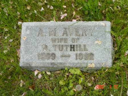 AVERY TUTHILL, A. M. - Talbot County, Maryland | A. M. AVERY TUTHILL - Maryland Gravestone Photos