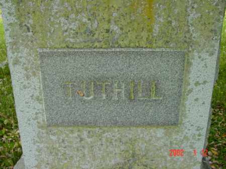 TUTHILL, MONUMENT - Talbot County, Maryland | MONUMENT TUTHILL - Maryland Gravestone Photos