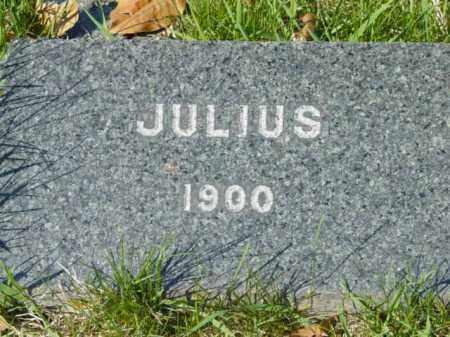 UNKNOWN, JULIUS - Talbot County, Maryland | JULIUS UNKNOWN - Maryland Gravestone Photos
