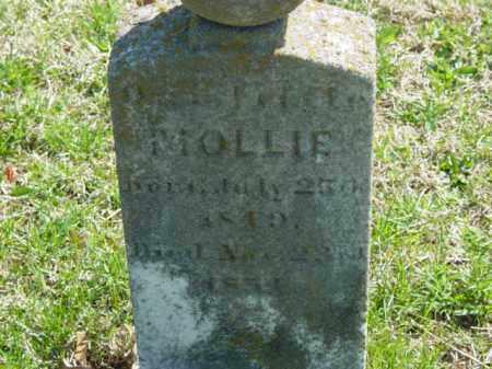 UNKNOWN, MOLLIE - Talbot County, Maryland   MOLLIE UNKNOWN - Maryland Gravestone Photos