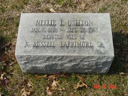 USILTON, NELLIE E. - Talbot County, Maryland | NELLIE E. USILTON - Maryland Gravestone Photos