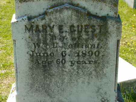 GUEST VALLIANT, MARY E. - Talbot County, Maryland | MARY E. GUEST VALLIANT - Maryland Gravestone Photos