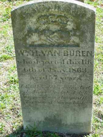 VAN BUREN, WM. H. - Talbot County, Maryland | WM. H. VAN BUREN - Maryland Gravestone Photos