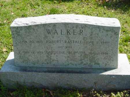 BURNITE WALKER, CAROLINE - Talbot County, Maryland   CAROLINE BURNITE WALKER - Maryland Gravestone Photos