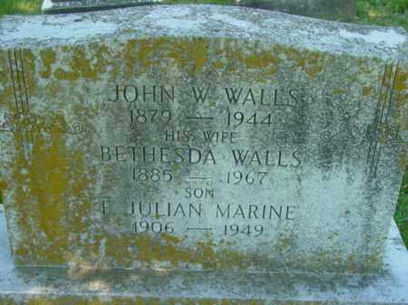 MARINE, F. JULIAN - Talbot County, Maryland | F. JULIAN MARINE - Maryland Gravestone Photos
