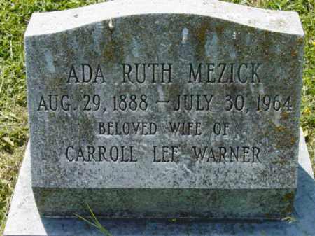 WARNER, ADA RUTH - Talbot County, Maryland | ADA RUTH WARNER - Maryland Gravestone Photos
