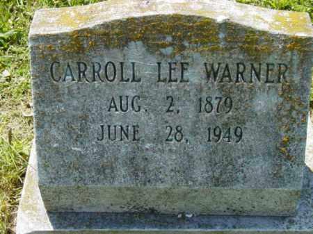 WARNER, CARROLL LEE - Talbot County, Maryland   CARROLL LEE WARNER - Maryland Gravestone Photos