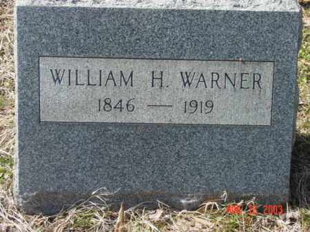 WARNER, WILLIAM H. - Talbot County, Maryland   WILLIAM H. WARNER - Maryland Gravestone Photos