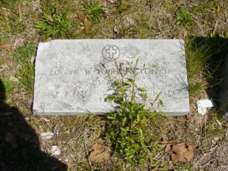 WARRINGTON, EDGAR - Talbot County, Maryland | EDGAR WARRINGTON - Maryland Gravestone Photos