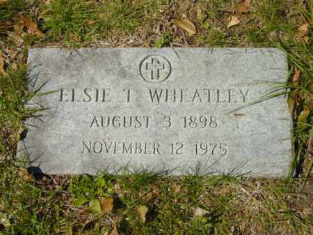 WHEATLEY, ELSIE T. - Talbot County, Maryland | ELSIE T. WHEATLEY - Maryland Gravestone Photos