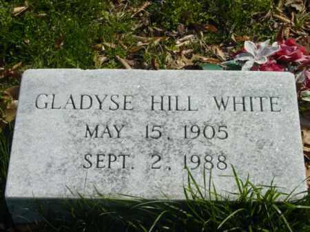WHITE, GLADYSE HILL - Talbot County, Maryland | GLADYSE HILL WHITE - Maryland Gravestone Photos