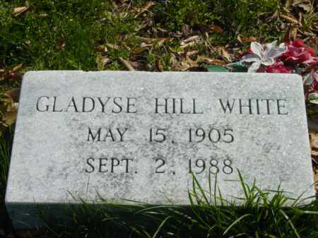 WHITE, GLADYSE HILL - Talbot County, Maryland | GLADYSE HILL WHITE - Maryland Gravestone Photos
