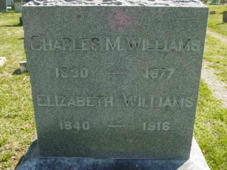 WILLIAMS, ELIZABETH - Talbot County, Maryland   ELIZABETH WILLIAMS - Maryland Gravestone Photos