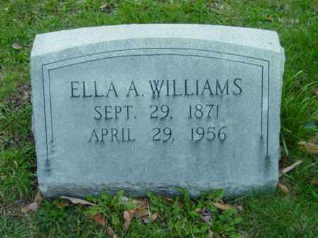 WILLIAMS, ELLA A. - Talbot County, Maryland | ELLA A. WILLIAMS - Maryland Gravestone Photos