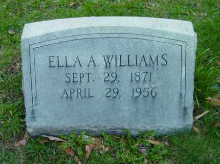 WILLIAMS, ELLA A. - Talbot County, Maryland | ELLA A. WILLIAMS - Maryland Gravestone Photos