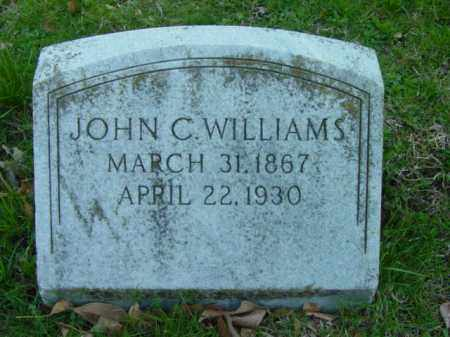 WILLIAMS, JOHN C. - Talbot County, Maryland | JOHN C. WILLIAMS - Maryland Gravestone Photos