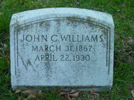 WILLIAMS, JOHN C. - Talbot County, Maryland   JOHN C. WILLIAMS - Maryland Gravestone Photos