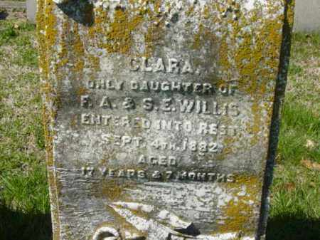 WILLIS, CLARA - Talbot County, Maryland | CLARA WILLIS - Maryland Gravestone Photos