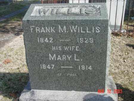 WILLIS, FRANK M. - Talbot County, Maryland | FRANK M. WILLIS - Maryland Gravestone Photos