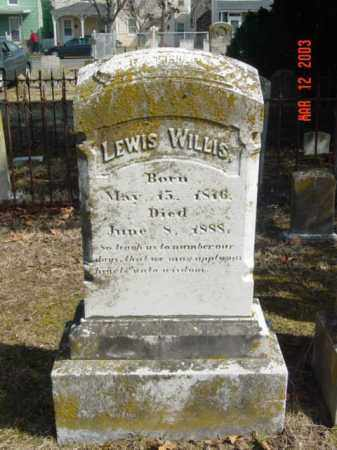 WILLIS, LEWIS - Talbot County, Maryland | LEWIS WILLIS - Maryland Gravestone Photos