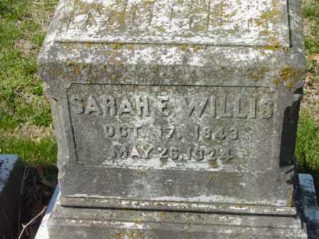 WILLIS, SARAH E. - Talbot County, Maryland   SARAH E. WILLIS - Maryland Gravestone Photos