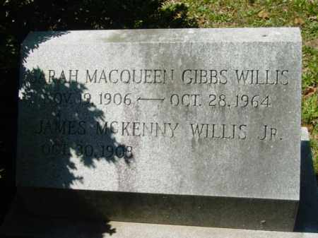 WILLIS JR., JAMES MCKENNY - Talbot County, Maryland | JAMES MCKENNY WILLIS JR. - Maryland Gravestone Photos