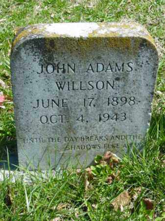 WILLISON, JOHN ADAMS - Talbot County, Maryland   JOHN ADAMS WILLISON - Maryland Gravestone Photos