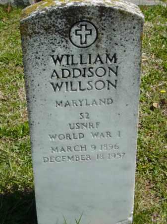 WILLISON, WILLIAM ADDISON - Talbot County, Maryland | WILLIAM ADDISON WILLISON - Maryland Gravestone Photos