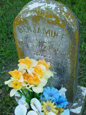WILSON, BENJAMIN F. - Talbot County, Maryland | BENJAMIN F. WILSON - Maryland Gravestone Photos