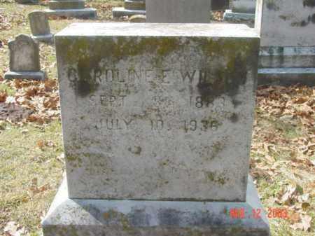 WILSON, CAROLNE E. - Talbot County, Maryland | CAROLNE E. WILSON - Maryland Gravestone Photos