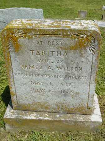 WILSON, TABITHA - Talbot County, Maryland | TABITHA WILSON - Maryland Gravestone Photos