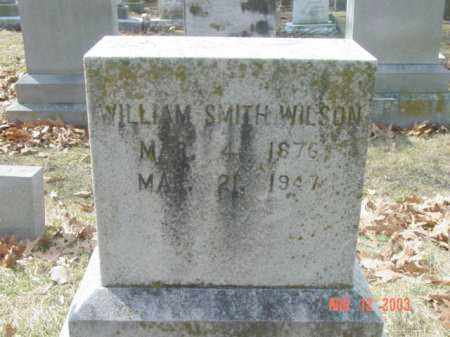 WILSON, WILLIAM SMITH - Talbot County, Maryland | WILLIAM SMITH WILSON - Maryland Gravestone Photos