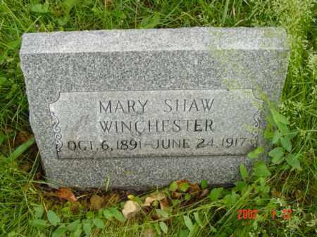 WINCHESTER, MARY - Talbot County, Maryland | MARY WINCHESTER - Maryland Gravestone Photos