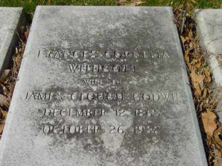 WINGOM, FRANCES CORDELLIA - Talbot County, Maryland | FRANCES CORDELLIA WINGOM - Maryland Gravestone Photos