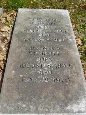 WITHGOTT, JULIUS HENRY - Talbot County, Maryland | JULIUS HENRY WITHGOTT - Maryland Gravestone Photos