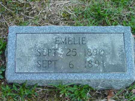 WOODWARD, EMELIE - Talbot County, Maryland | EMELIE WOODWARD - Maryland Gravestone Photos