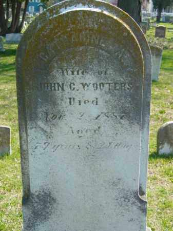 WOOTERS, CATHERINE - Talbot County, Maryland | CATHERINE WOOTERS - Maryland Gravestone Photos