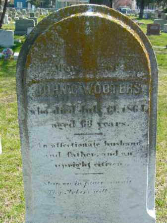 WOOTERS, JOHN C. - Talbot County, Maryland | JOHN C. WOOTERS - Maryland Gravestone Photos