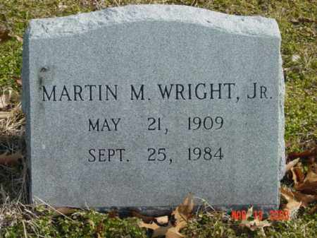WRIGHT, JR., MARTIN M. - Talbot County, Maryland | MARTIN M. WRIGHT, JR. - Maryland Gravestone Photos