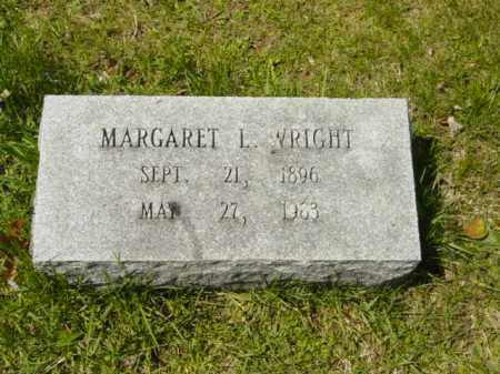 WRIGHT, MARGARET L. - Talbot County, Maryland | MARGARET L. WRIGHT - Maryland Gravestone Photos