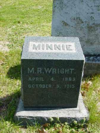 WRIGHT, MINNIE R. - Talbot County, Maryland | MINNIE R. WRIGHT - Maryland Gravestone Photos