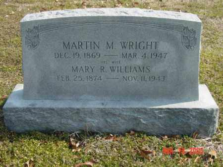 WRIGHT, MARTIN M. - Talbot County, Maryland | MARTIN M. WRIGHT - Maryland Gravestone Photos