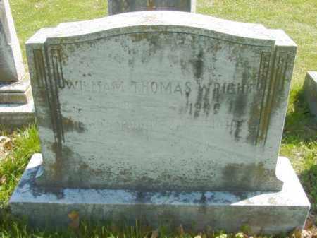WRIGHT, WILLIAM THOMAS - Talbot County, Maryland | WILLIAM THOMAS WRIGHT - Maryland Gravestone Photos