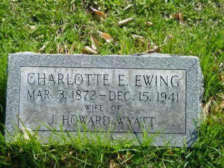 WYATT, CHARLOTTE E. - Talbot County, Maryland   CHARLOTTE E. WYATT - Maryland Gravestone Photos