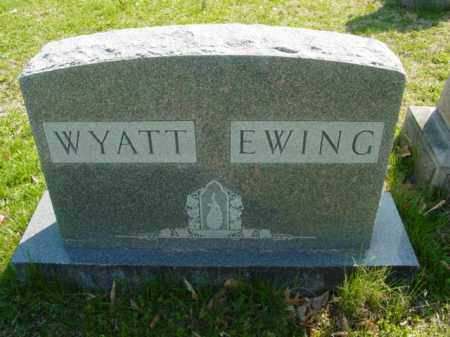 WYATT EWING, FAMILY - Talbot County, Maryland | FAMILY WYATT EWING - Maryland Gravestone Photos