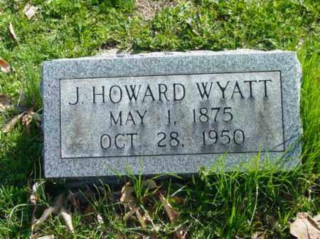WYATT, J. HOWARD - Talbot County, Maryland | J. HOWARD WYATT - Maryland Gravestone Photos