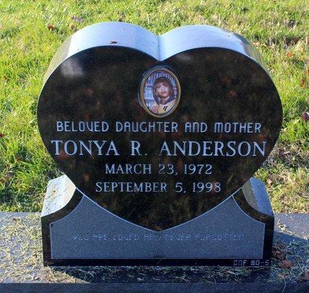 ANDERSON, TONYA R. - Prince George's County, Maryland | TONYA R. ANDERSON - Maryland Gravestone Photos